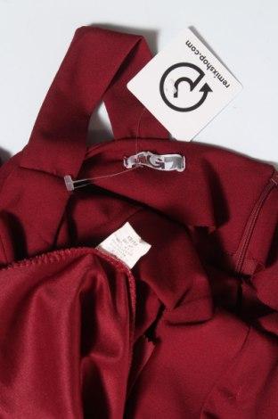 Рокля Wal G, Размер M, Цвят Червен, 95% полиестер, 5% еластан, Цена 57,00лв.
