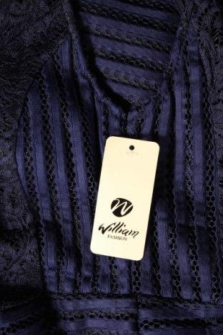 Φόρεμα William, Μέγεθος S, Χρώμα Μπλέ, 95% πολυεστέρας, 5% ελαστάνη, Τιμή 26,68€