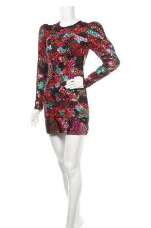 Рокля Zara, Размер L, Цвят Многоцветен, 59% памук, 41% полиестер, Цена 66,75лв.