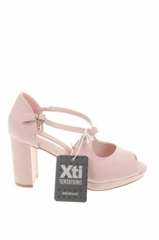 Σανδάλια Xti, Μέγεθος 38, Χρώμα Ρόζ , Κλωστοϋφαντουργικά προϊόντα, Τιμή 30,80€
