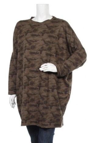 Туника Pull&Bear, Размер L, Цвят Зелен, Цена 23,40лв.