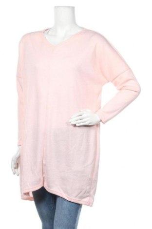 Τουνίκ TINA, Μέγεθος XL, Χρώμα Ρόζ , 65% πολυεστέρας, 35% βαμβάκι, Τιμή 7,67€