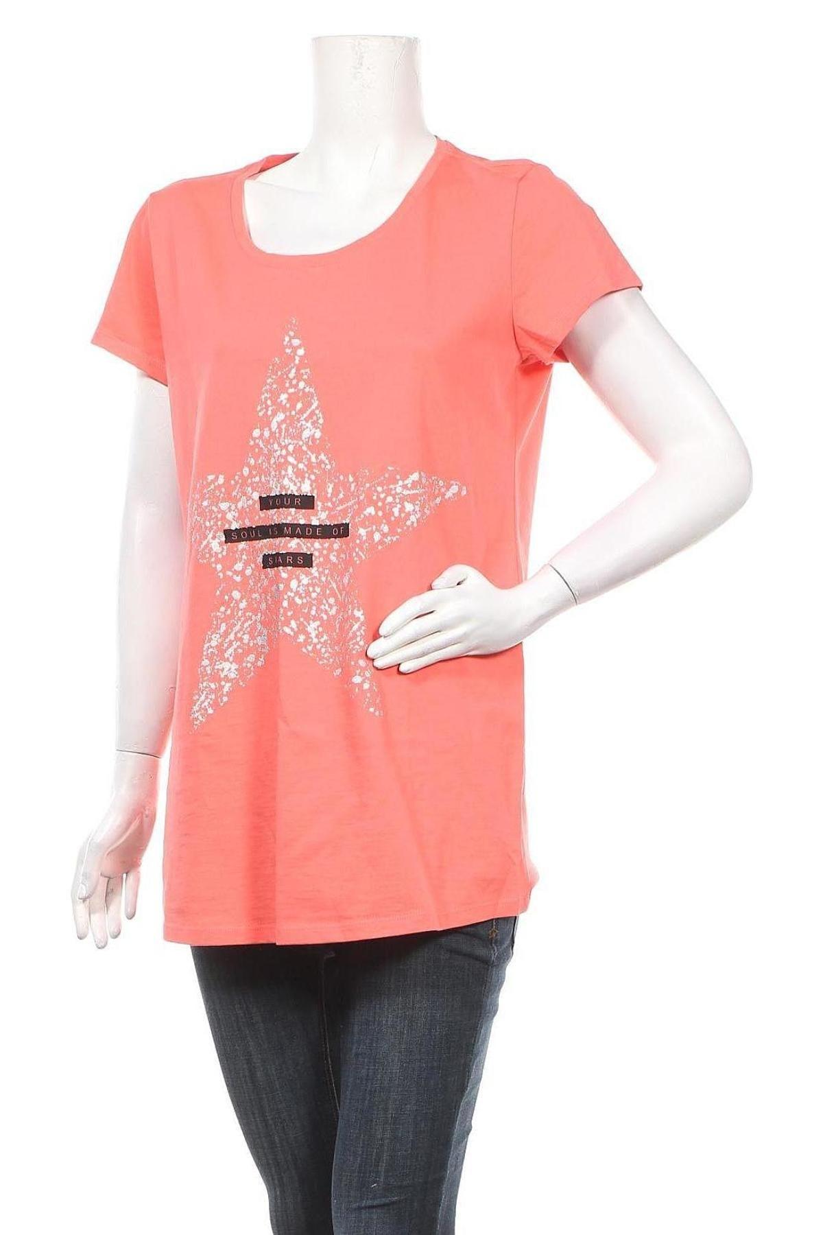 Μπλούζα εγκυμοσύνης Supermom, Μέγεθος XL, Χρώμα Ρόζ , Βαμβάκι, Τιμή 7,60€
