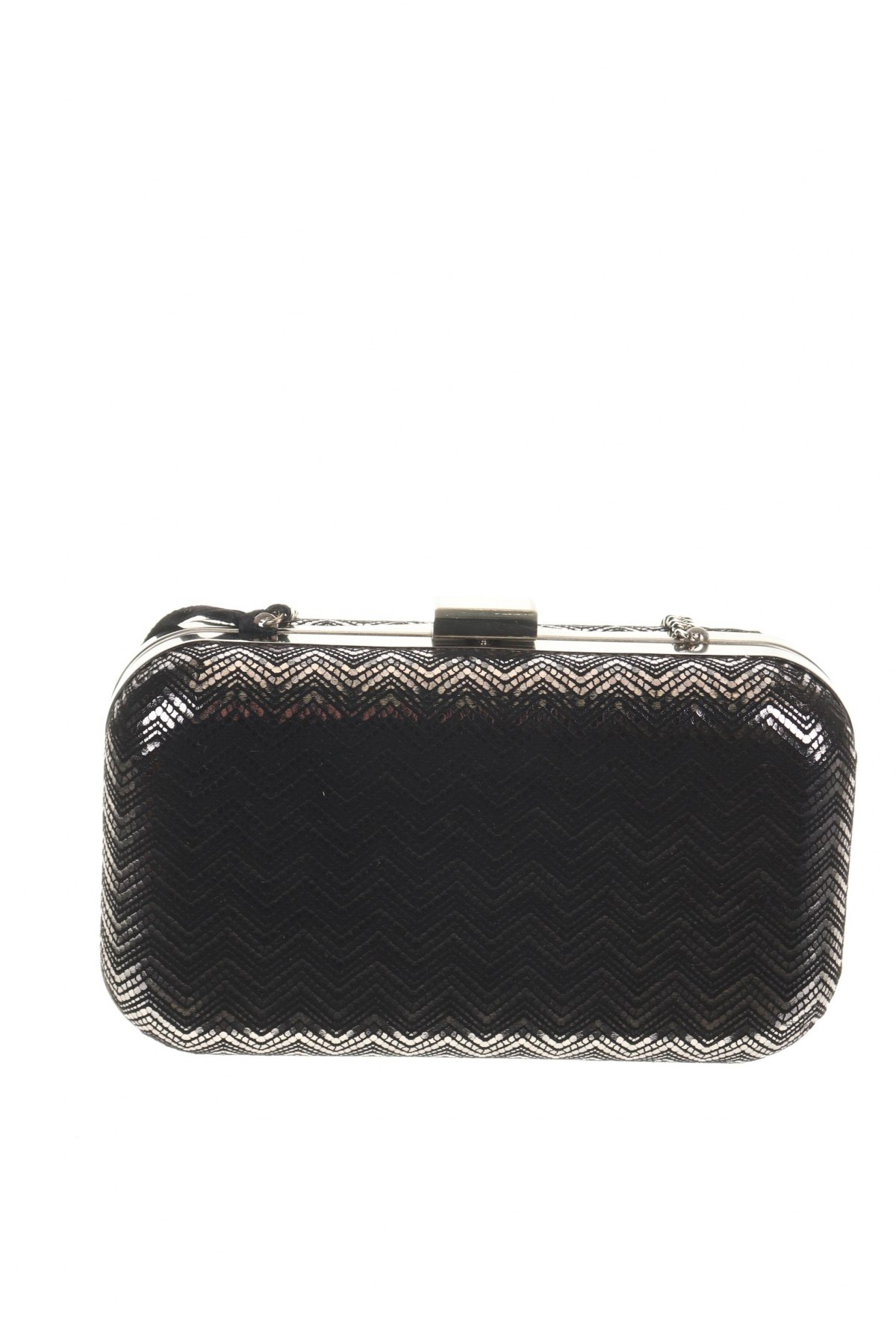 Дамска чанта Caroll, Цвят Сребрист, Текстил, Цена 89,25лв.