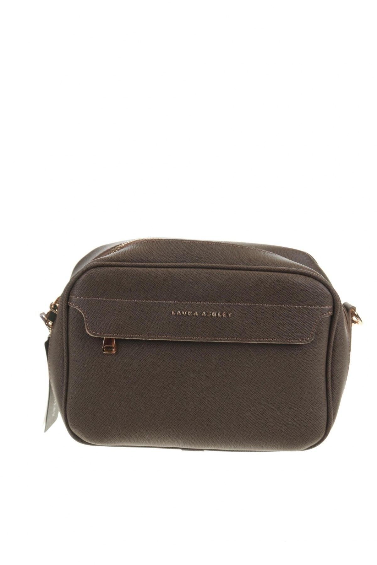Дамска чанта Laura Ashley, Цвят Зелен, Еко кожа, Цена 17,15лв.