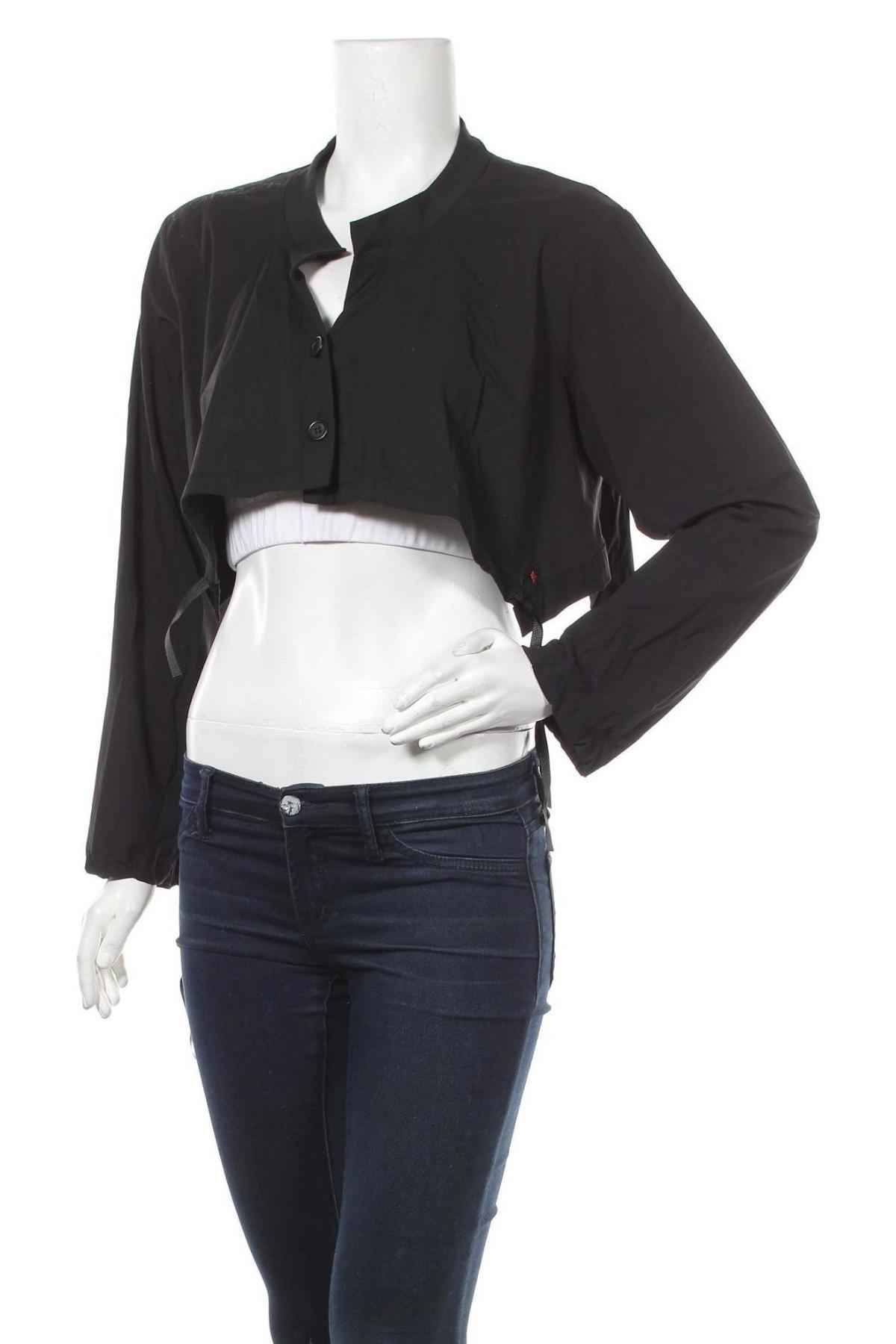 Γυναικεία ζακέτα La Mode Est A Vous, Μέγεθος XL, Χρώμα Μαύρο, 78% πολυαμίδη, 22% ελαστάνη, Τιμή 9,12€