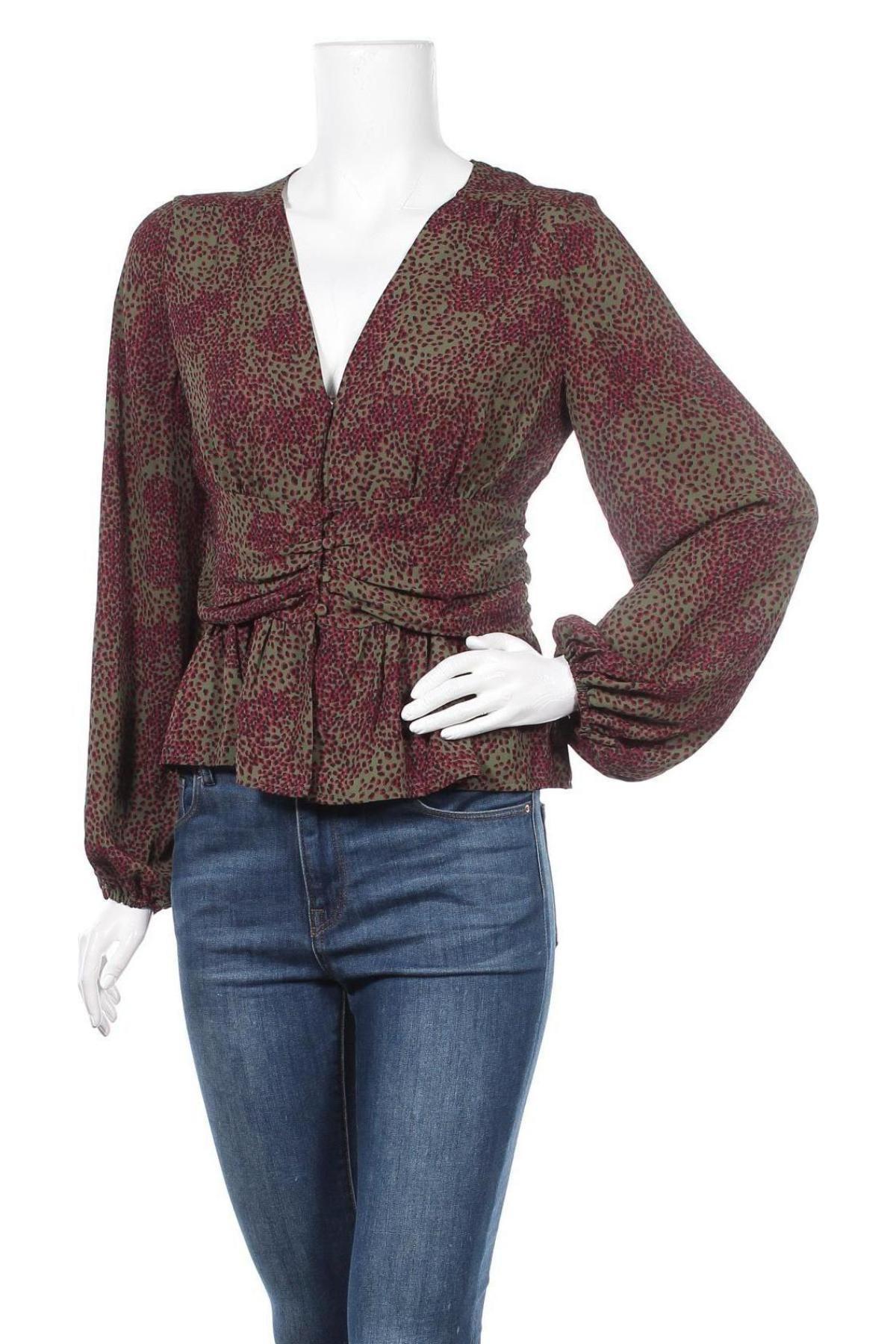 Дамска риза Vero Moda, Размер S, Цвят Многоцветен, Полиестер, Цена 26,55лв.