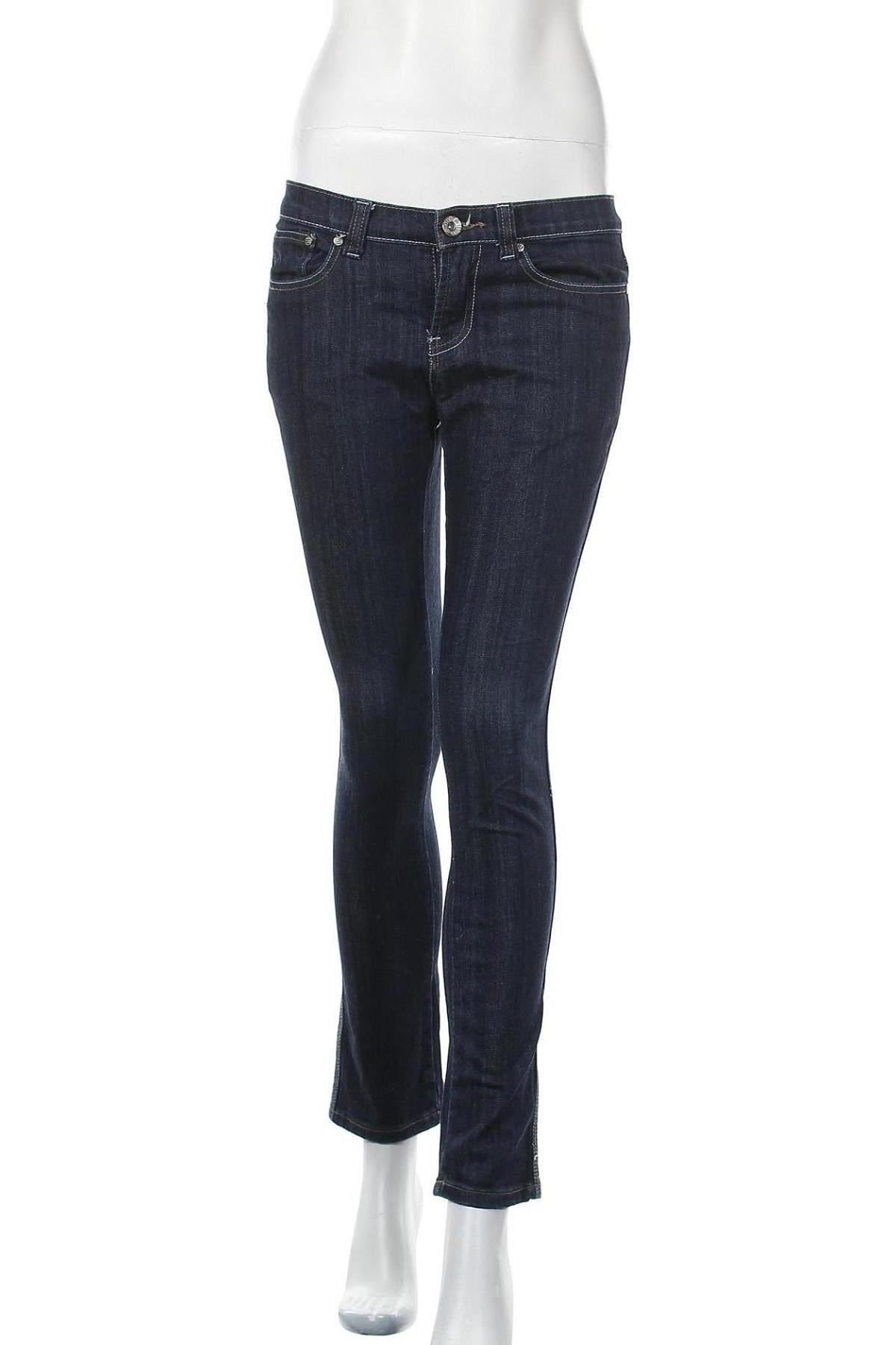 Дамски дънки Dorothy Perkins, Размер S, Цвят Син, 95% памук, 5% полиестер, Цена 6,30лв.