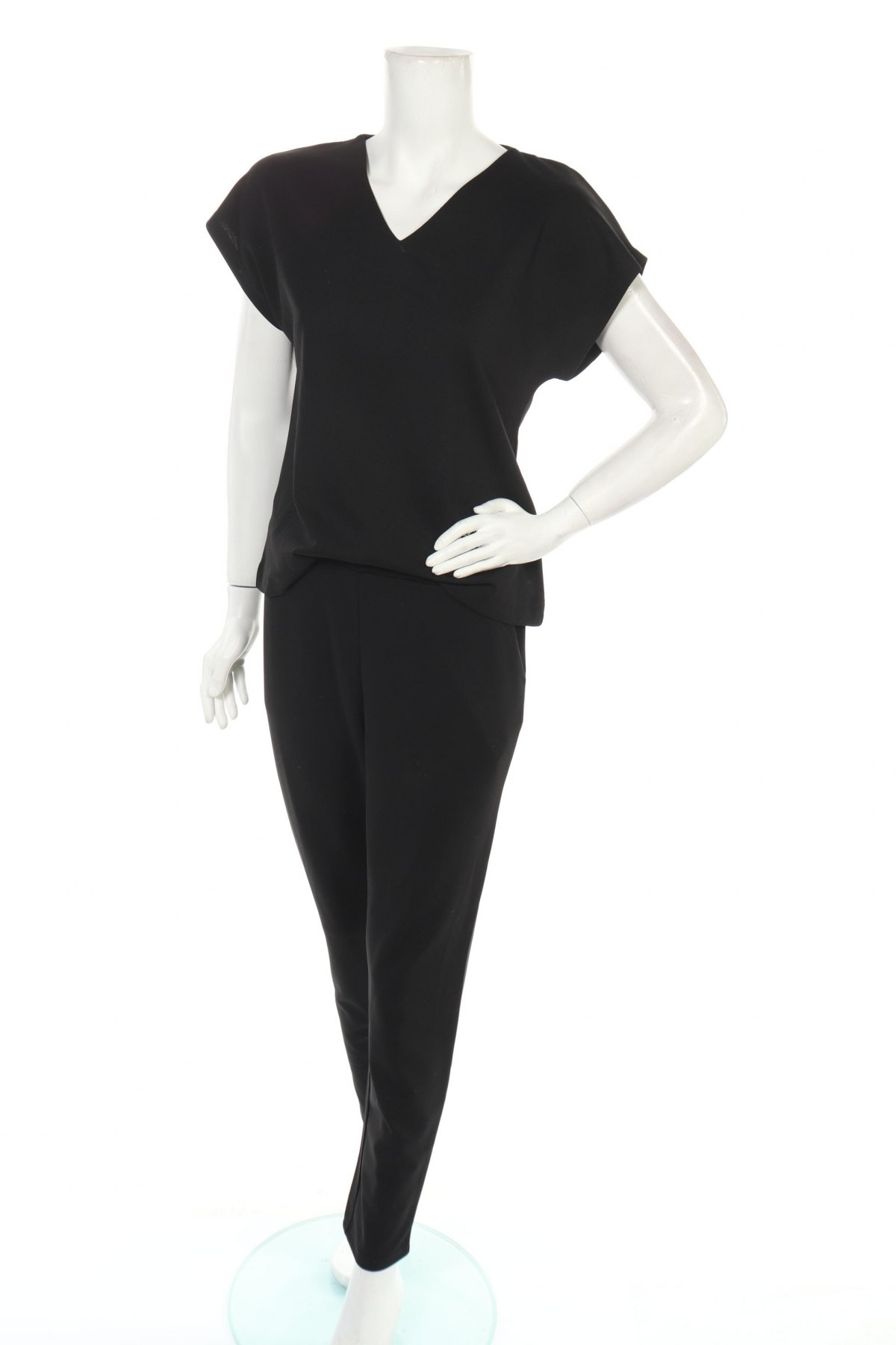 Дамски гащеризон Soya Concept, Размер S, Цвят Черен, 95% полиестер, 5% еластан, Цена 30,96лв.