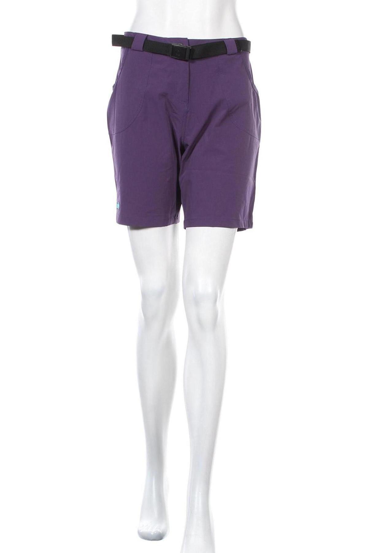 Γυναικείο κοντό παντελόνι Izas, Μέγεθος L, Χρώμα Βιολετί, 92% πολυαμίδη, 8% ελαστάνη, Τιμή 18,95€