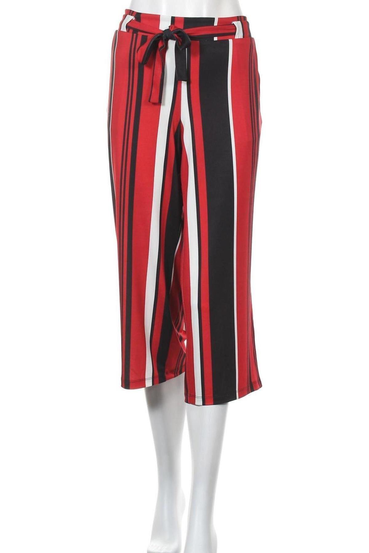 Дамски панталон Aniston, Размер L, Цвят Многоцветен, 95% полиестер, 5% еластан, Цена 23,56лв.