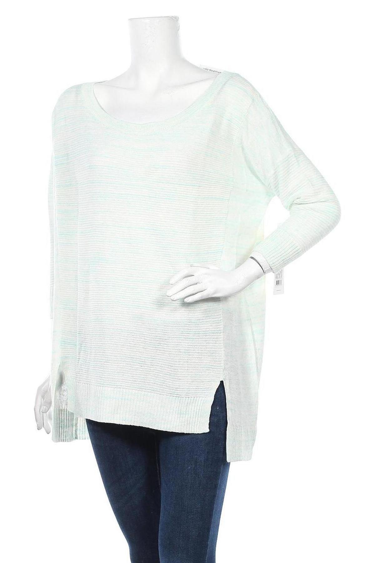 Γυναικείο πουλόβερ Lole, Μέγεθος M, Χρώμα Μπλέ, 65% λινό, 23% βαμβάκι, 12% πολυεστέρας, Τιμή 24,74€