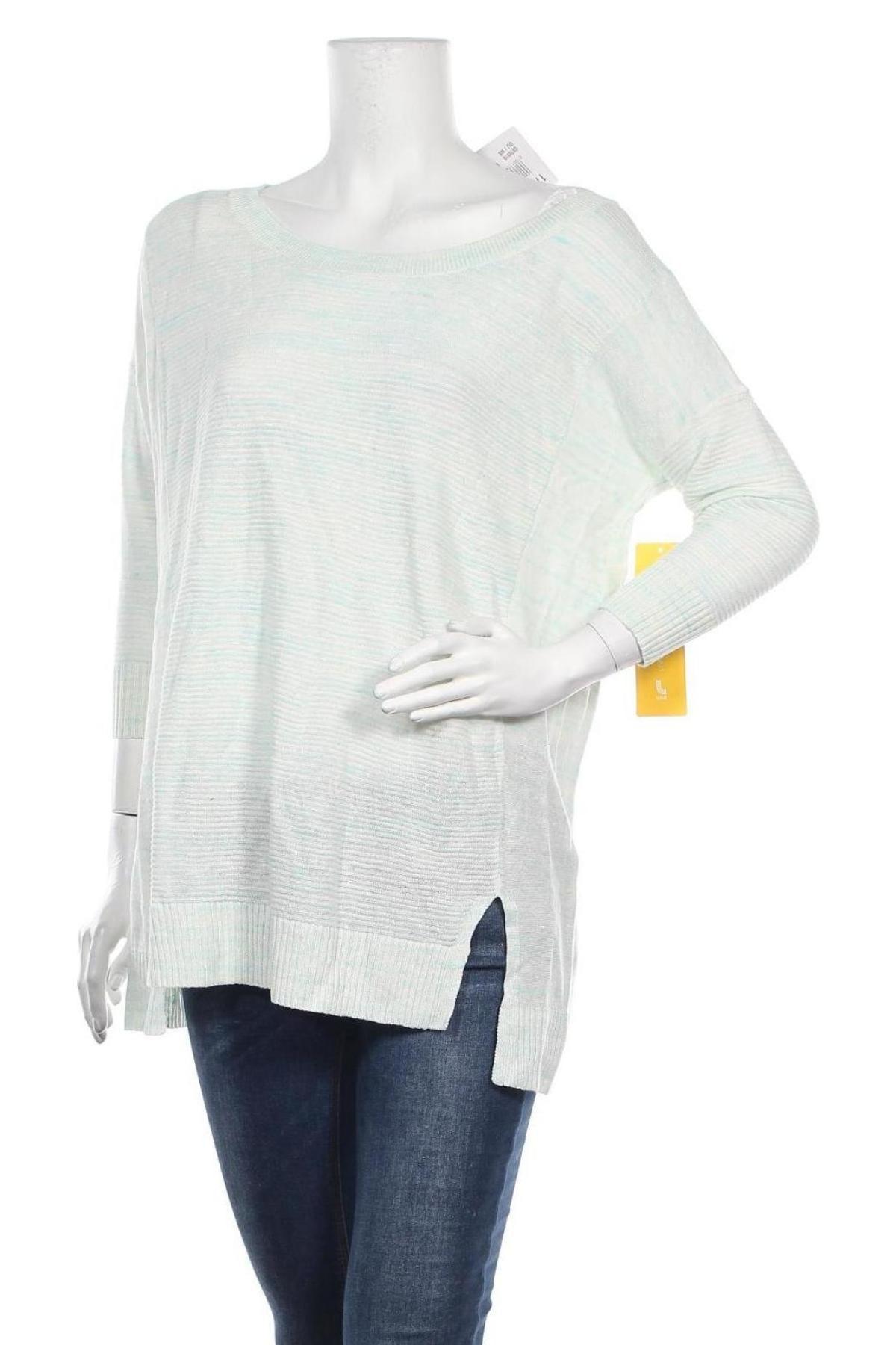 Γυναικείο πουλόβερ Lole, Μέγεθος S, Χρώμα Μπλέ, 65% λινό, 23% βαμβάκι, 12% πολυεστέρας, Τιμή 24,74€