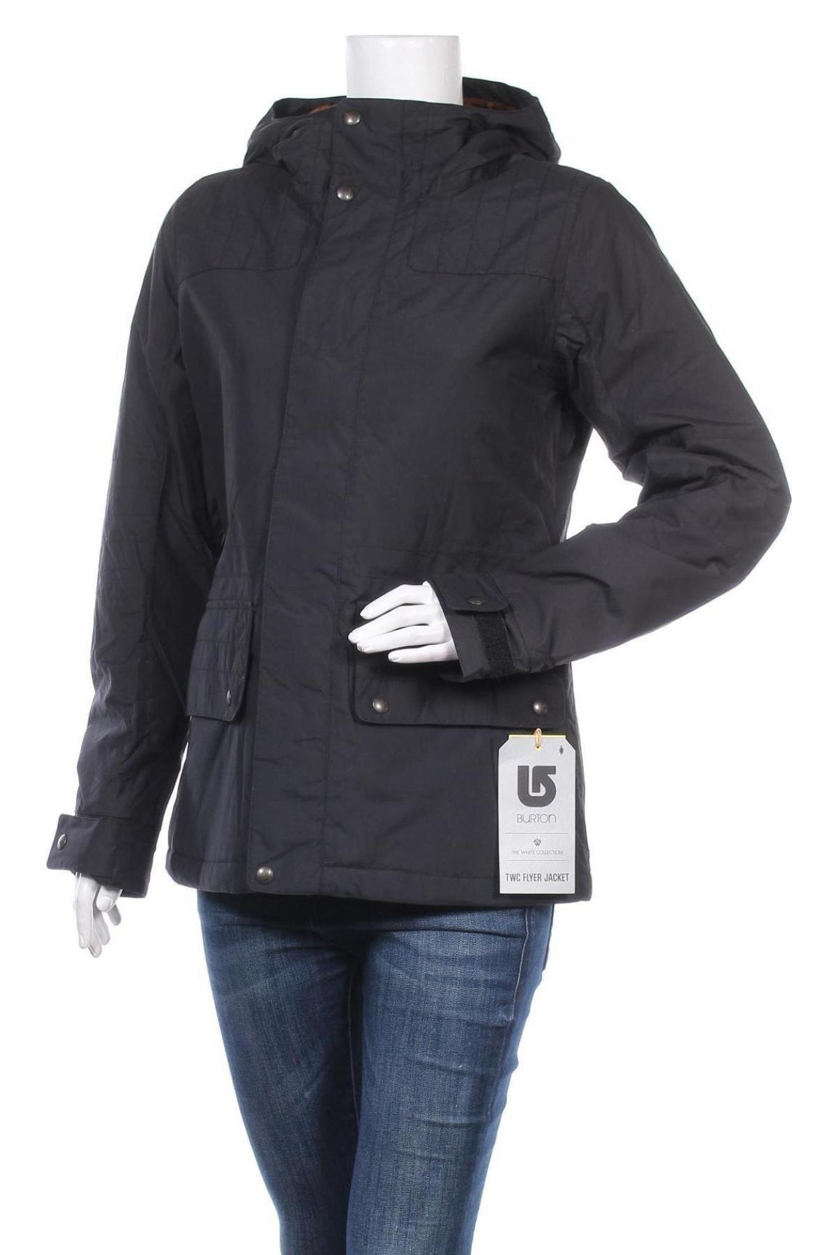Дамско спортно яке Burton, Размер M, Цвят Черен, Полиамид, Цена 98,70лв.