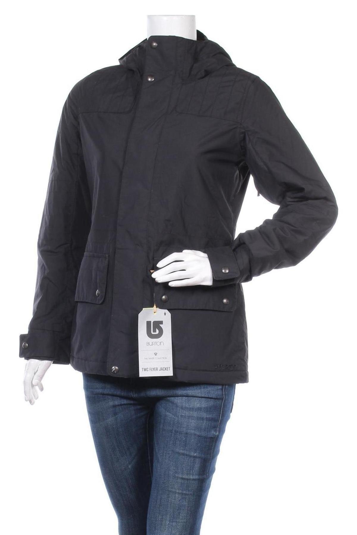 Дамско спортно яке Burton, Размер S, Цвят Черен, Полиамид, Цена 98,70лв.