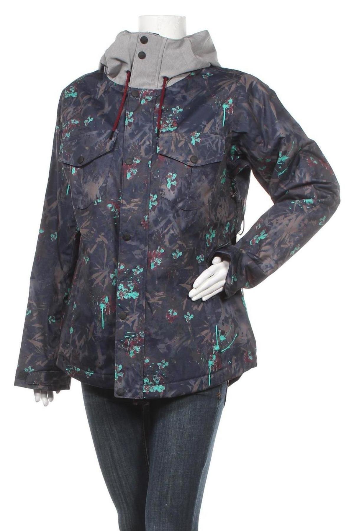 Дамско яке за зимни спортове Oakley, Размер M, Цвят Многоцветен, Полиестер, Цена 141,57лв.
