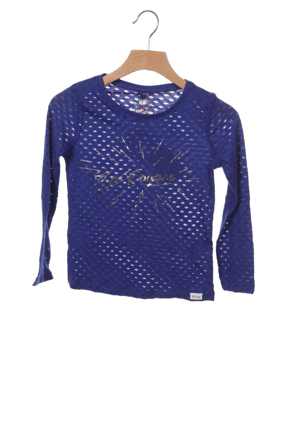Dětská halenka  Lee Cooper, Velikost 5-6y/ 116-122 cm, Barva Modrá, 60% bavlna, 40% polyester, Cena  424,00Kč