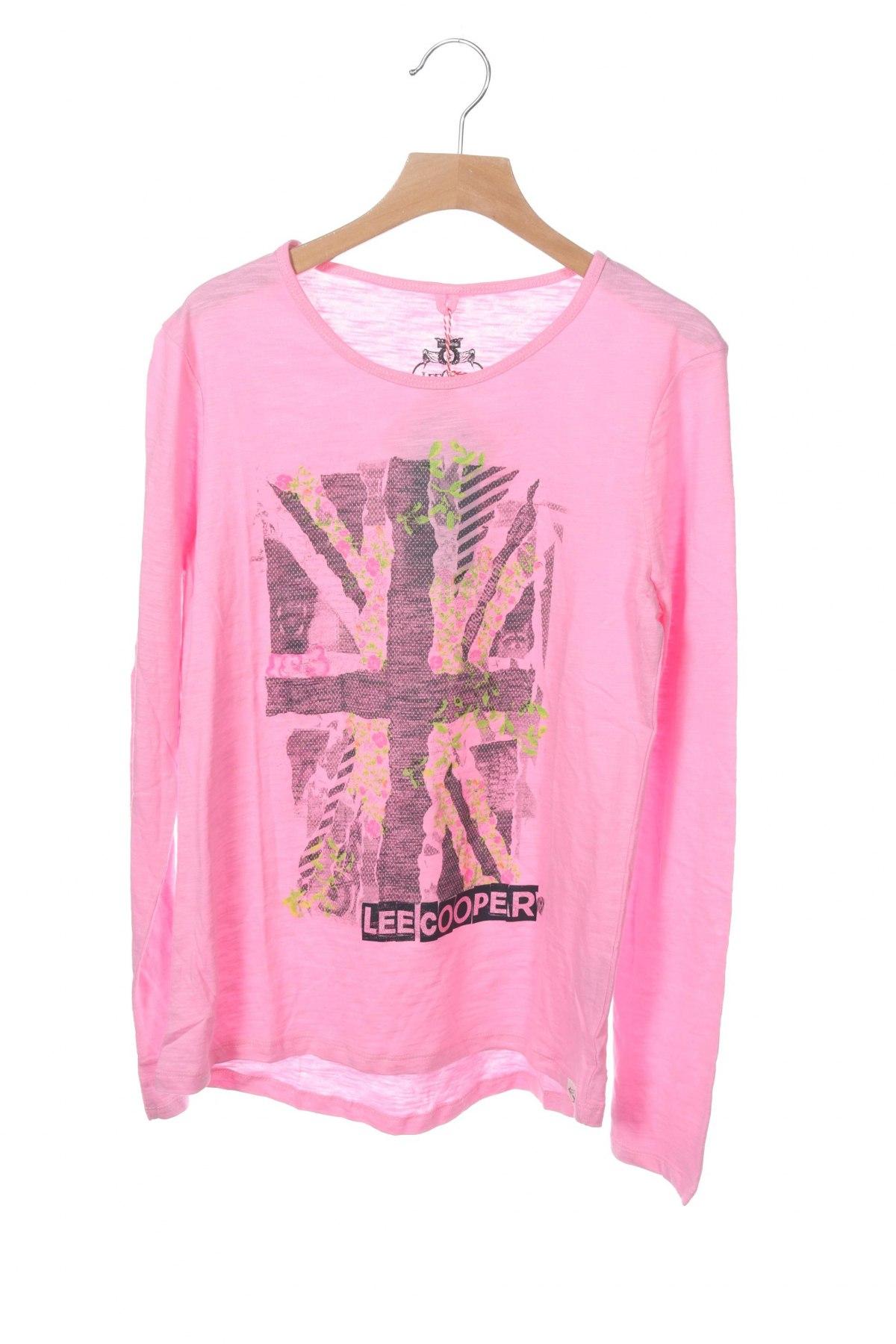 Детска блуза Lee Cooper, Размер 15-18y/ 170-176 см, Цвят Розов, Памук, Цена 27,00лв.