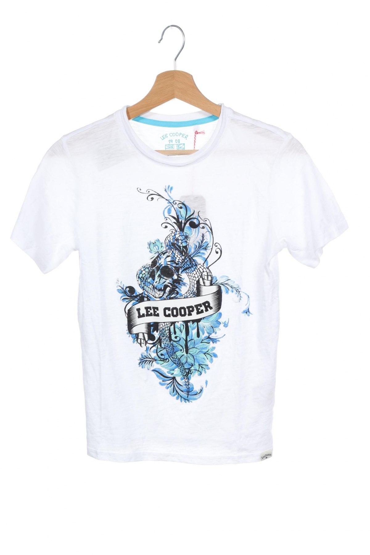Παιδικό μπλουζάκι Lee Cooper, Μέγεθος 11-12y/ 152-158 εκ., Χρώμα Λευκό, Βαμβάκι, Τιμή 7,22€