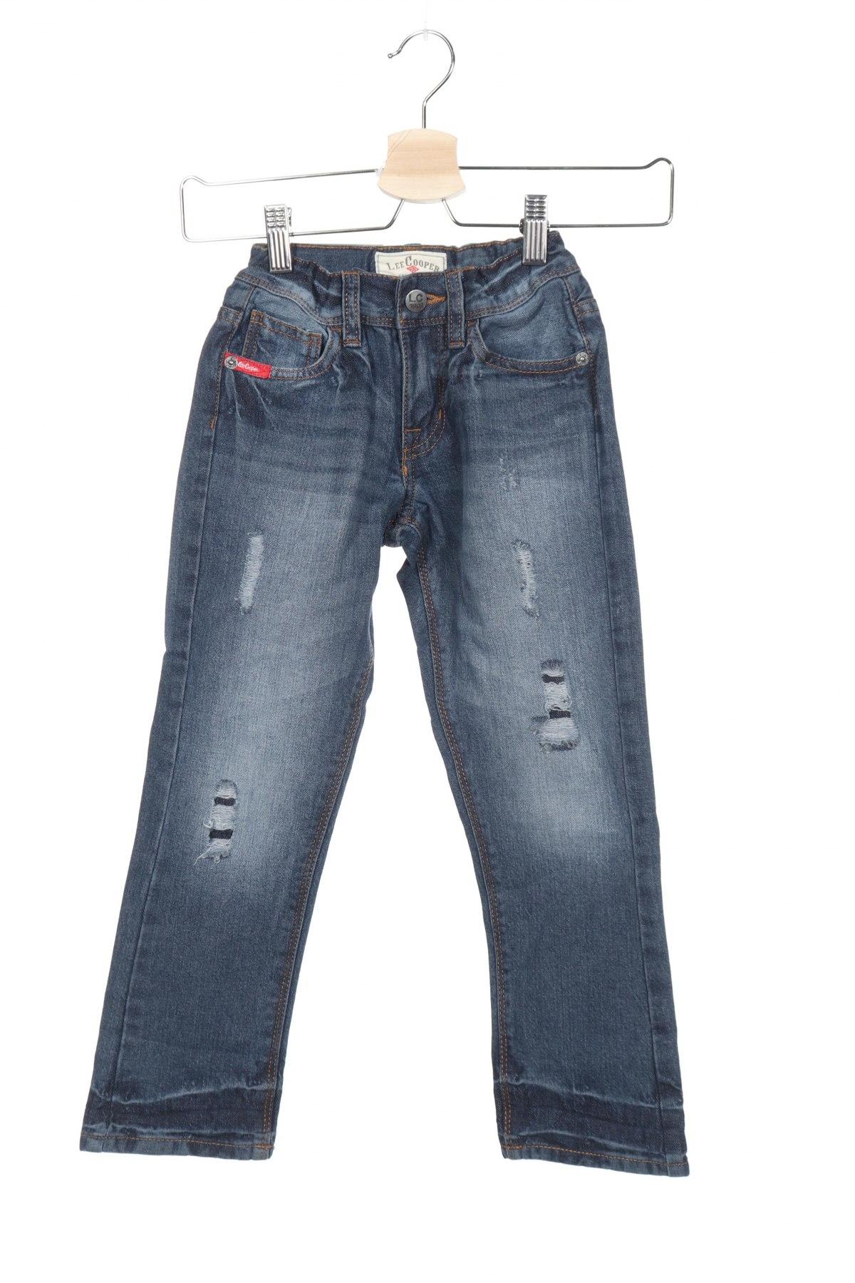 Παιδικά τζίν Lee Cooper, Μέγεθος 5-6y/ 116-122 εκ., Χρώμα Μπλέ, Βαμβάκι, Τιμή 7,60€