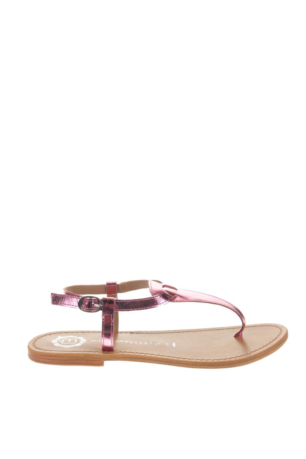 Сандали Les Bagatelles, Размер 40, Цвят Розов, Естествена кожа, Цена 31,60лв.