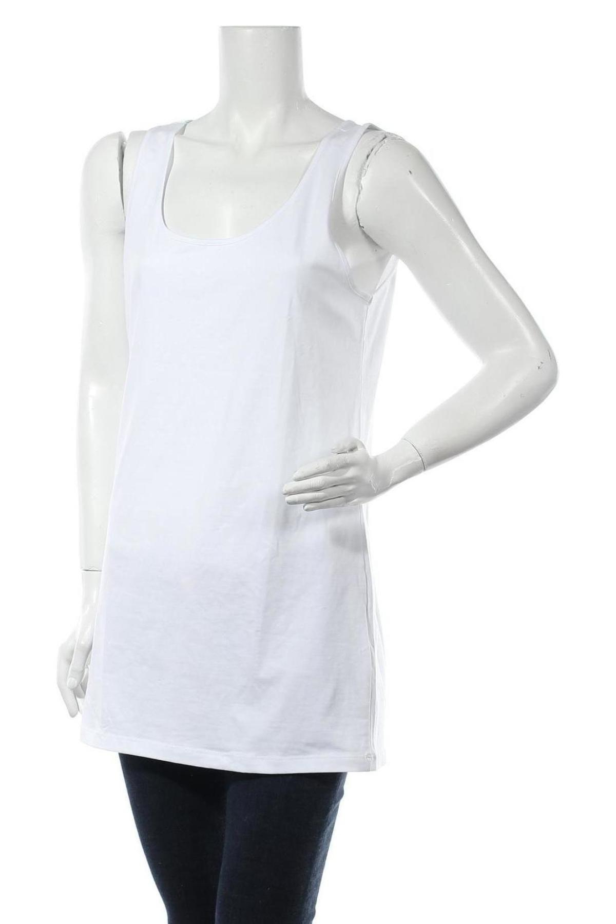 Туника Vero Moda, Размер XXL, Цвят Бял, 95% памук, 5% еластан, Цена 29,64лв.