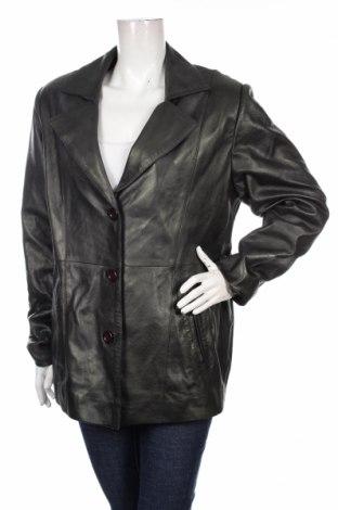 Damski skórzany płaszcz Regina