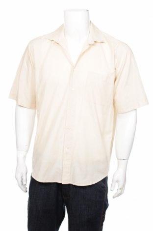 Ανδρικό πουκάμισο Barisal, Μέγεθος M, Χρώμα  Μπέζ, 60% βαμβάκι, 40% πολυεστέρας, Τιμή 2,01€