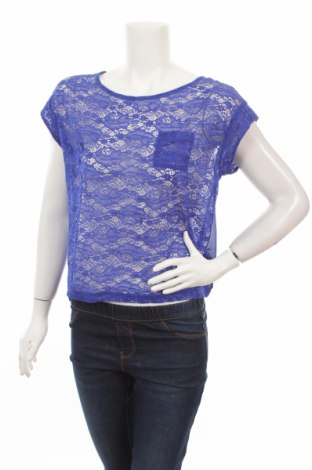 Γυναικεία μπλούζα H&M Divided, Μέγεθος S, Χρώμα Μπλέ, Πολυεστέρας, Τιμή 2,97€