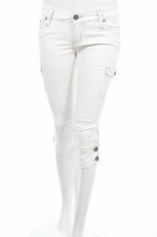 Дамски панталон Blind Date, Размер S, Цвят Бял, 97% памук, 3% еластан, Цена 7,82лв.