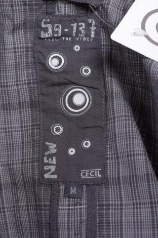 Дамски елек Cecil, Размер M, Цвят Сив, 100% памук, Цена 13,60лв.