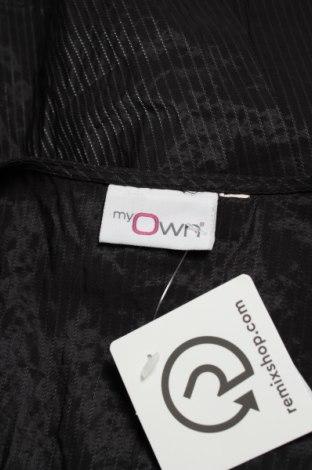 Дамски елек My Own, Размер L, Цвят Черен, 98% полиестер, 2% полиамид, Цена 19,55лв.