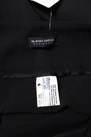Дамски панталон Blacky Dress, Размер M, Цвят Черен, 53% полиестер, 43% памук, 4% еластан, Цена 37,40лв.