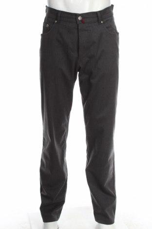 Мъжки панталон Pierre Cardin, Размер M, Цвят Сив, 75% полиестер, 22% вискоза, 3% еластан, Цена 10,50лв.