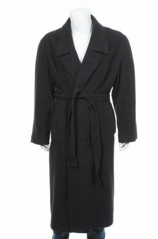 Мъжко палто Miguel, Размер L, Цвят Сив, 70% вълна, 30% полиестер, Цена 31,95лв.