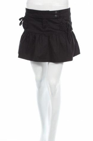 Φούστα R, Μέγεθος M, Χρώμα Μαύρο, 98% βαμβάκι, 2% ελαστάνη, Τιμή 2,90€