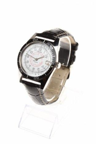 Часовник Yema, Цвят Черен, Еко кожа, метал, Цена 122,25лв.