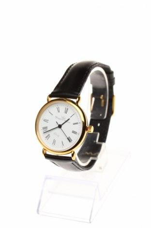 Часовник Yonger & Bresson, Цвят Черен, Еко кожа, метал, Цена 39,40лв.