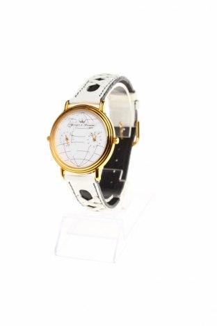 Zegarek Yonger & Bresson, Kolor Biały, Skóra naturalna, Cena 163,18zł