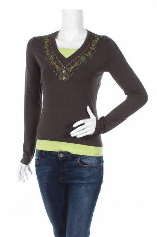 Γυναικεία μπλούζα Apriori, Μέγεθος S, Χρώμα Καφέ, 95% βισκόζη, 5% ελαστάνη, Τιμή 2,23€