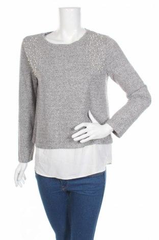 Bluză de femei Oasis, Mărime M, Culoare Gri, 53% viscoză, 43% poliester, 4% elastan, Preț 41,76 Lei