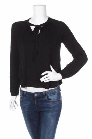 Дамска блуза Oasis, Размер XS, Цвят Черен, 97% вискоза, 3% еластан, Цена 15,87лв.
