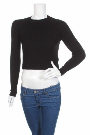 Дамска блуза Review, Размер L, Цвят Черен, 75% вискоза, 19% полиамид, 6% еластан, Цена 10,12лв.