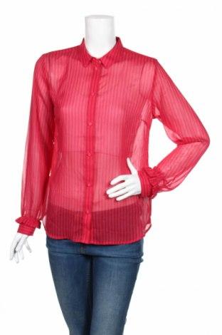 Дамска риза Modstrom, Размер M, Цвят Розов, 100% полиестер, Цена 20,47лв.