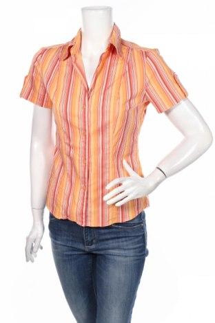 Дамска риза New York & Company, Размер S, Цвят Многоцветен, 58% памук, 26% полиамид, 11% вискоза, 5% еластан, Цена 3,50лв.