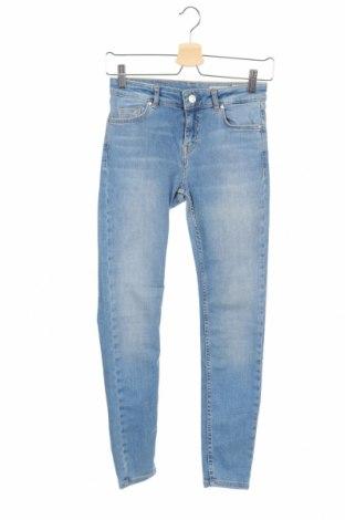 Дамски дънки Review, Размер XS, Цвят Син, 92% памук, 6% полиестер, 2% еластан, Цена 30,72лв.