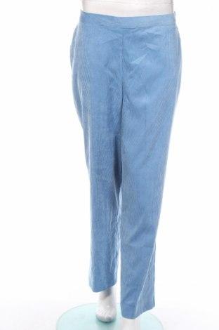 Dámské menčestráky Alfred Dunner, Veľkosť M, Farba Modrá, 85% polyester, 13% polyamide, 2% elastan, Cena  8,16€