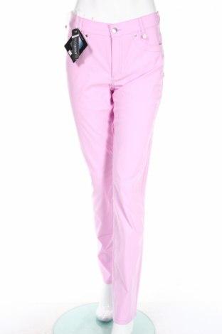 Дамски панталон Golfino, Размер M, Цвят Розов, 94% полиамид, 6% еластан, Цена 34,80лв.