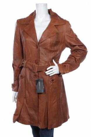 Дамски кожен шлифер Arma