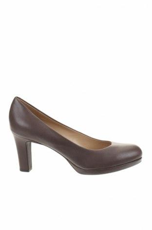 Дамски обувки Geox, Размер 39, Цвят Кафяв, Естествена кожа, Цена 68,40лв.